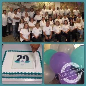 The Toll Roads' staff took some time today to celebrate and wish FasTrak a happy 20th birthday!